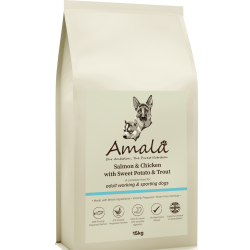 Amala Working Dog – Fish & Chicken Recipe 15KG